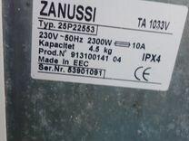 Стиральная машина Zanussi на запчасти