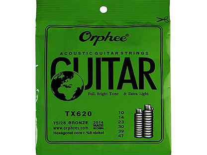 Комплект струн для акустической Orphee TX620