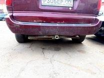 Додж гранд караван задний бампер