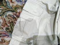 Джинсы белые из декатлона