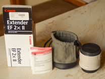 Canon Extender EF 2x II — Фототехника в Калуге