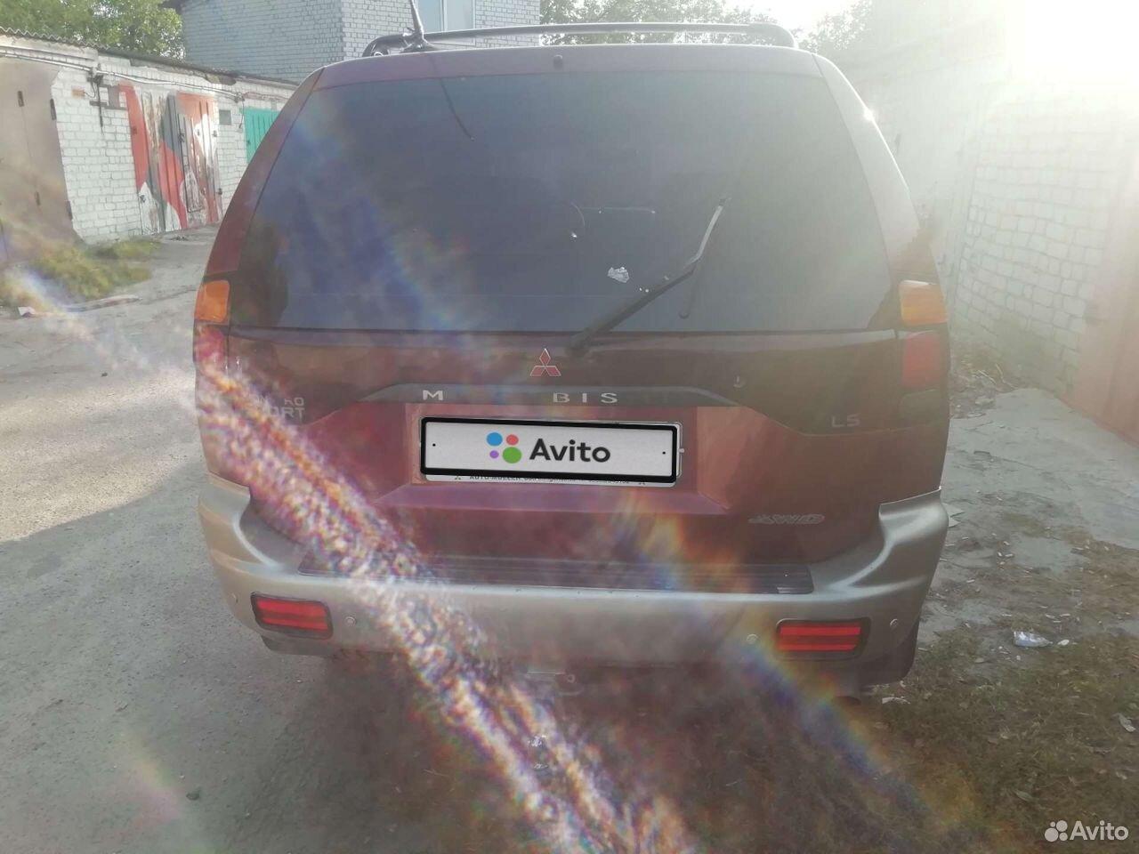 Mitsubishi Pajero Sport, 2000  89107333478 купить 4