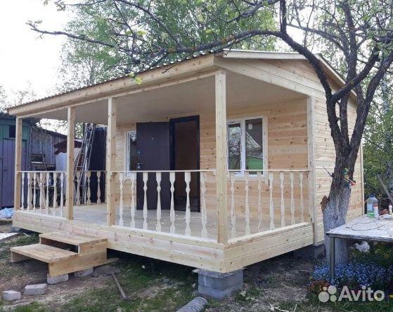 Дачный домик 5,0х6,0  89225996177 купить 1