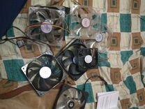 Корпусные вентиляторы 120мм