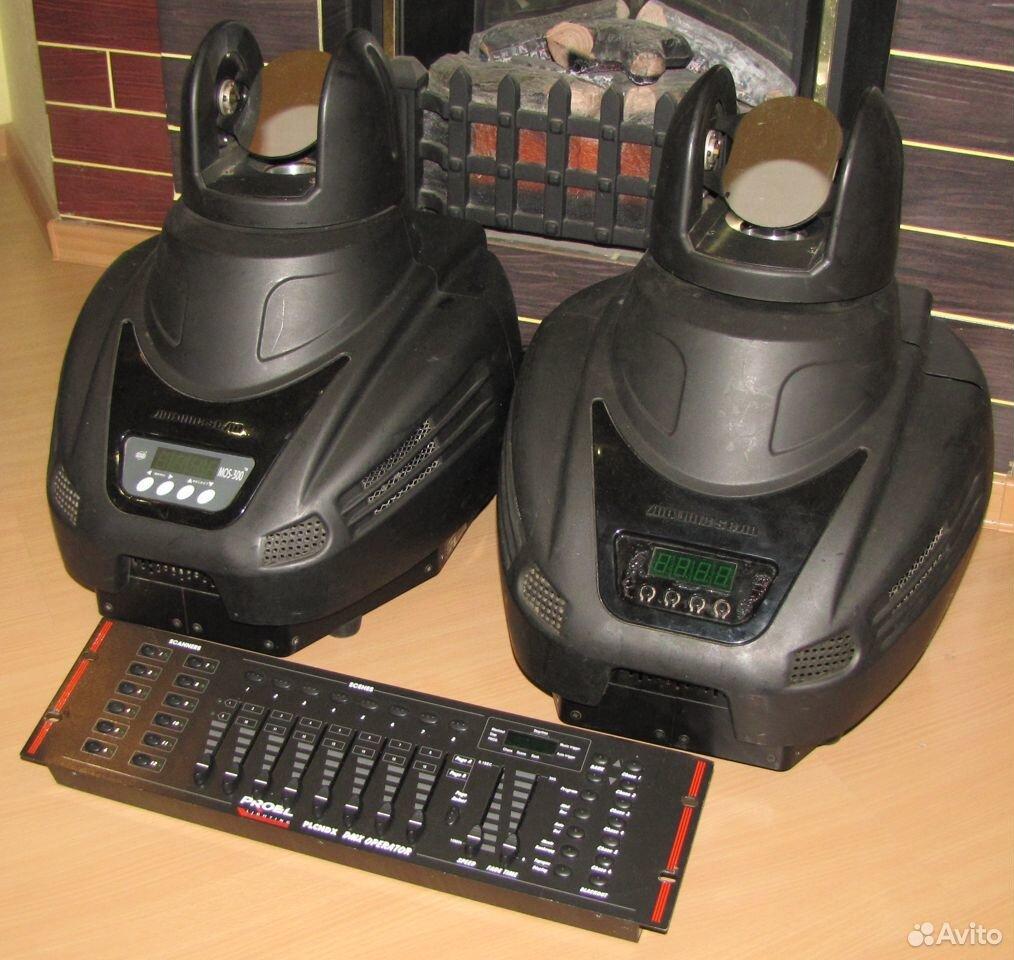 Pro светомузыка головы MOS300 2шт пульт DMX Proel  89128899109 купить 6