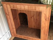 Новая будка для крупной собаки