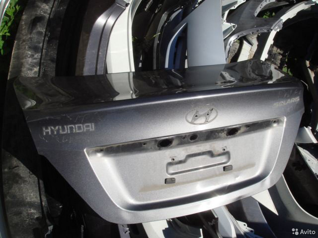 Солярис Крышка багажника Hyundai Solaris 11-16