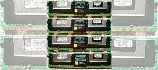 Память серверная DDR2 DDR3 DDR4 ECC