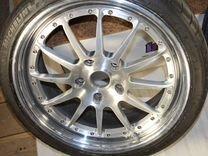 Кованые диски HRE C21 R19 на Porsche+резина