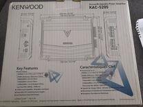 Автомобильный усилитель kenwood kac-5205