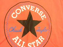 Футболка Converse кораллового цвета