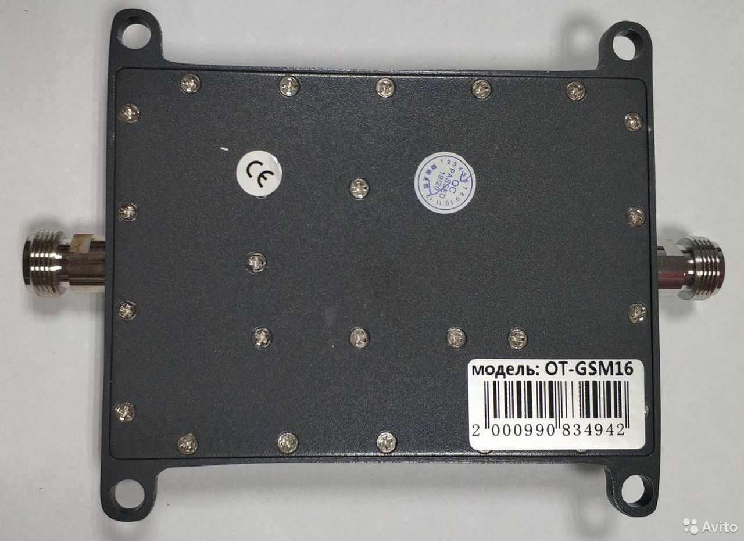 GSM усилитель репитер Орбита OT-GSM16, 1800 мгц