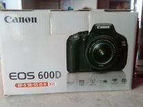 Продам Canon EOS 600D Kit 18-55 — Фототехника в Магнитогорске
