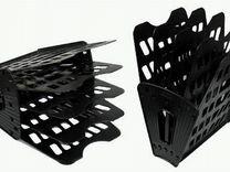 Новый Лоток веер 5-секц Стамм лт91 черный
